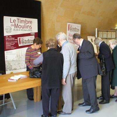 1er jour Moulins 24 mars 2012