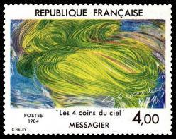 01 2300 31 03 1984 jean messagier les 4 coins du ciel