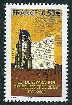 01 3860 03 12 2005 separation de l eglise et de l etat