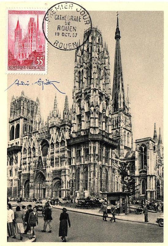02 1129 19 10 1957 cathedrale de rouen