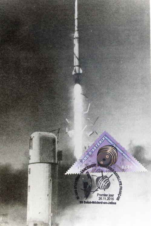 02 26 11 2013 5013 lancement du premier satellite francais 1