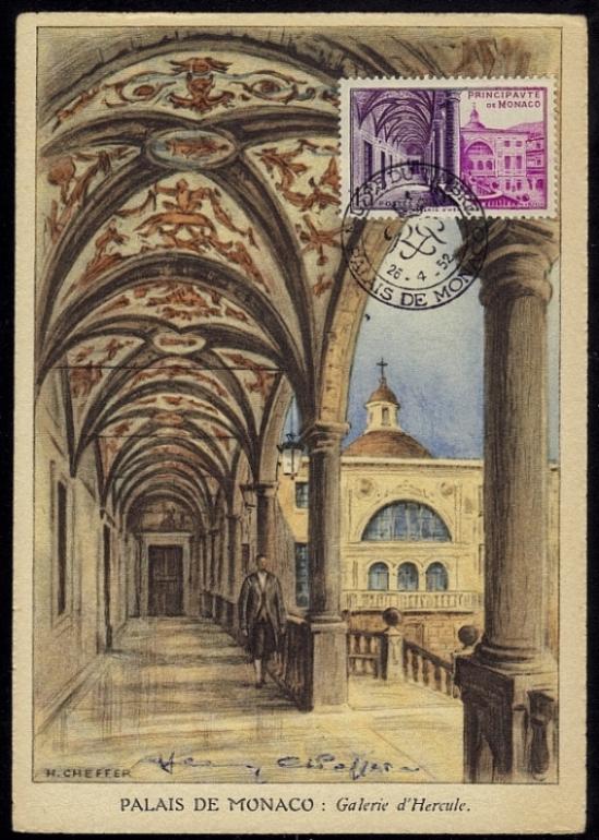 02 384 26 04 1952 palais de monaco