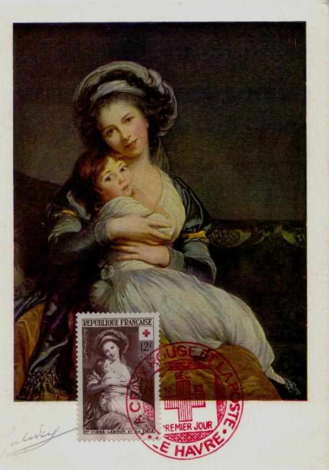 02 966 12 12 1953 mme vigee lebrun et sa fille autoportrait