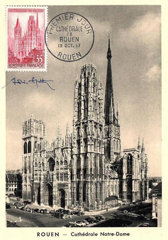 03 1129 19 10 1957 cathedrale de rouen