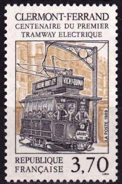 03 2608 28 10 1989 centenaire du 1er tramway electrique