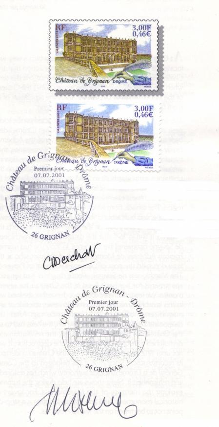 03 3415 2001 chateau de grignan