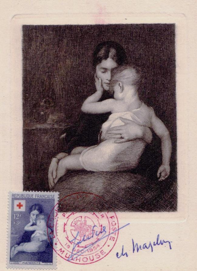 04 1006 18 12 1954 maternite d apres eugene carriere 1