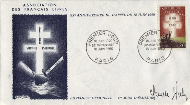 04 1264 18 06 1960 20e anniversaire 2