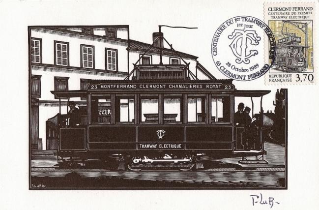 04 2608 28 10 1989 centenaire du 1er tramway electrique