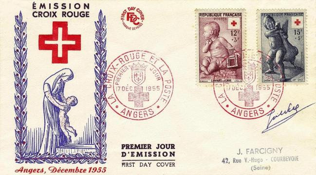 05 1048 1049 07 12 1955 croix rouge