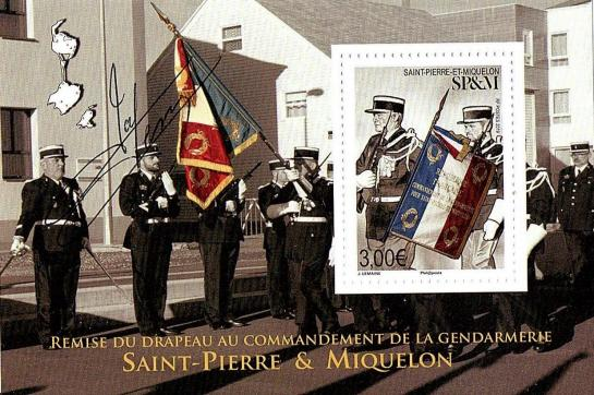 05 10 2019 remise du drapeau de la gendarmerie
