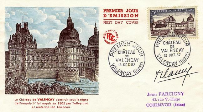 06 1128 19 10 1957 chateau de valencay