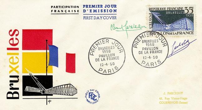 06 1156 12 04 1958 pavillon de la france