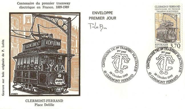 06 2608 28 10 1989 centenaire du 1er tramway electrique