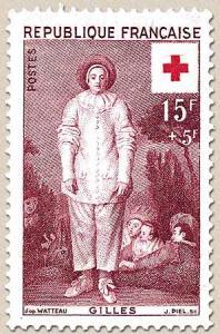 07 1090 08 12 1956 croix rouge