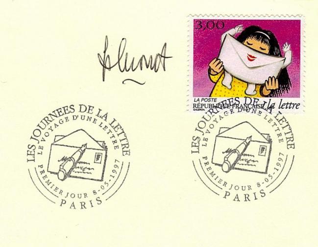 07 3064 10 05 1997 voyage d une lettre
