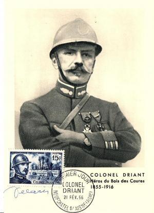 08 1052 21 02 1956 colonel driant 1855 1916
