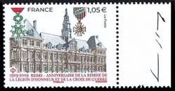 09 05 07 2019 1919 2019 reims anniversaire de la remise de la legion d honneur et de la croix de guerre