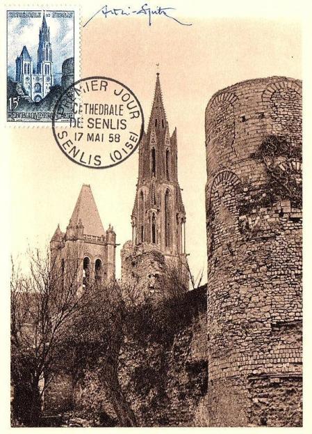 09 1165 17 05 1958 cathedrale de senlis