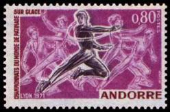 09 209 20 02 1971 championnats du monde de patinage sur glace patineurs