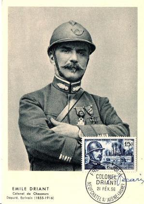 10 1052 21 02 1956 colonel driant 1855 1916