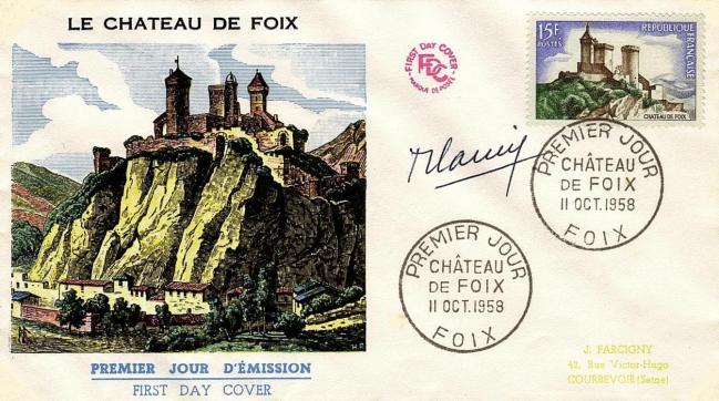 10 1175 11 10 1958 chateau de foix