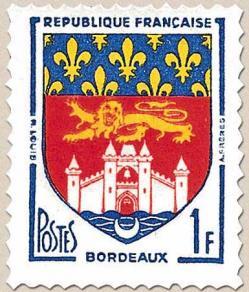 10 1183 1958 blason bordeaux