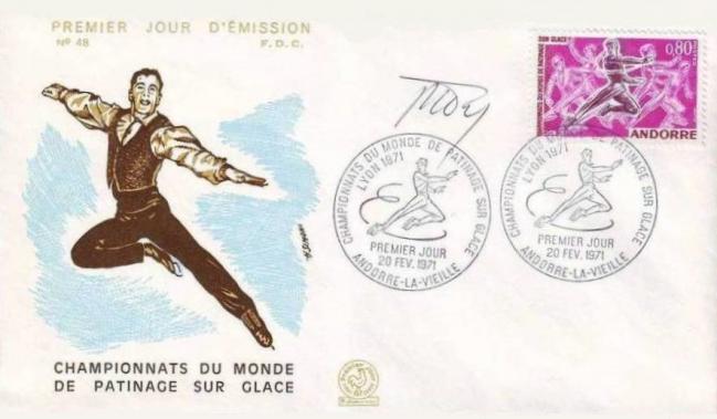10 209 20 02 1971 championnats du monde de patinage sur glace patineurs