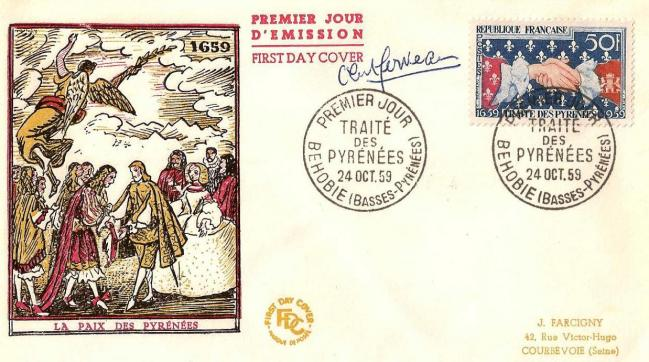 10 24 10 1959 1223 tricentenaire du traite des pyrenees