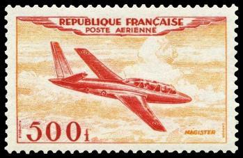 10 pa32 16 01 1954 fouga magister 500f