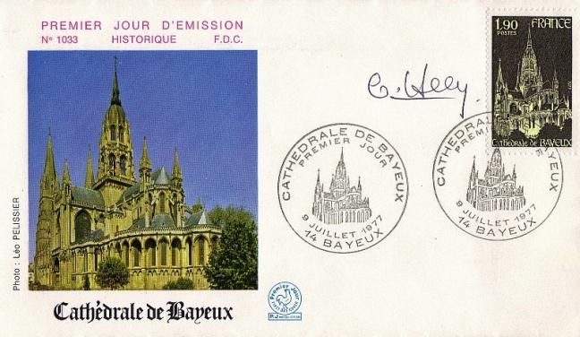 101 1939 09 07 1977 cathedrale de bayeux