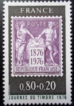 104 1870 13 03 1976 journee du timbre 1