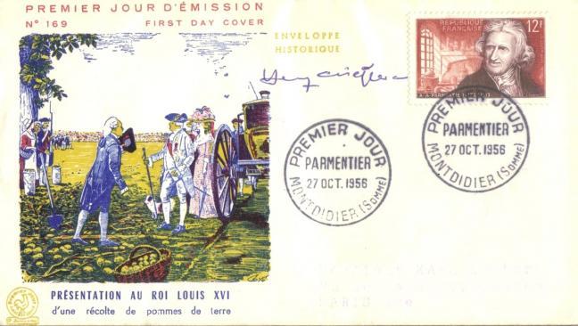 1081 27 10 1956 antoine augustin parmentier 1737 1813