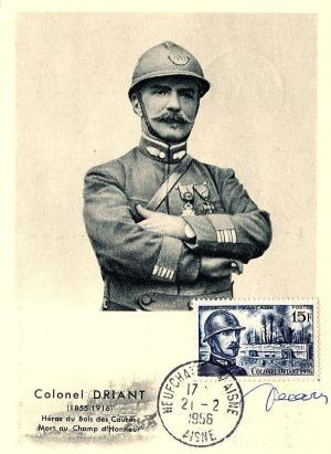 11 1052 21 02 1956 colonel driant 1855 1916