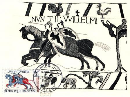 12 1172 21 06 1958 tapisseries de la reine mathilde bayeux