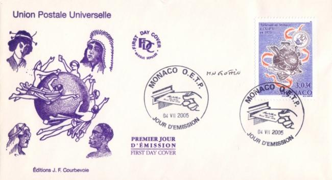 122 2498 04 07 2005 union postale universelle