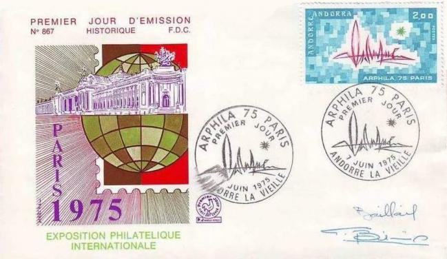 123 248 07 06 1975 exposition internationale arphila 75 paris motifs abstraits1
