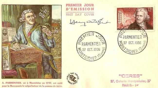 13 1081 27 10 1956 antoine augustin parmentier 1737 1813