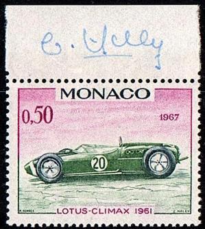 13b 717 28 04 1967 voiture du grand prix lotus climax 1961