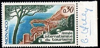 13c 723 28 04 1967 annee internationale du tourisme