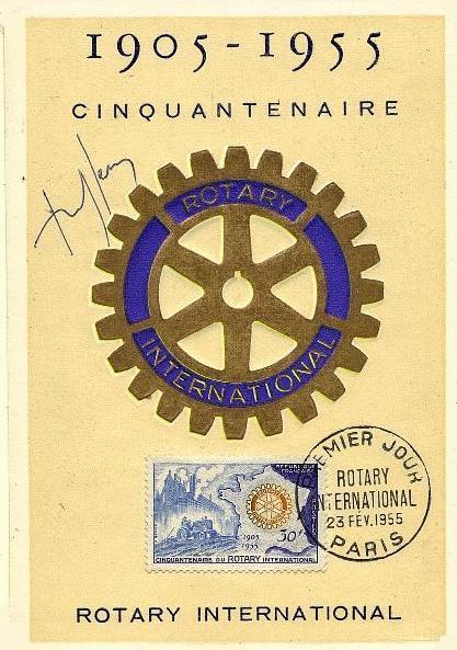 14 1009 23 02 1955 rotary