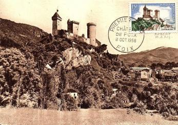 14 1175 11 10 1958 chateau de foix2