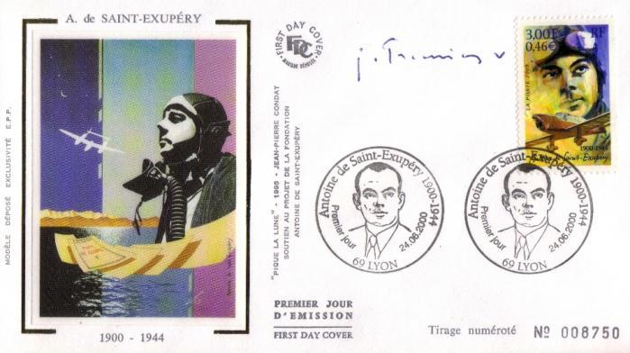 14 3337 24 06 2000 antoine de saint exupery 1900 1944