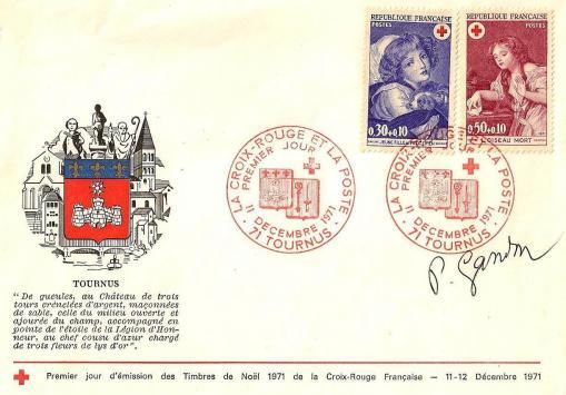150a 1700 1701 11 12 1961 croix rouge