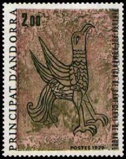 154 278 02 06 1979 fresque romane de l eglise de sant cerni de nagol l aigle1