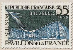 16 1156 12 04 1958 pavillon de la france