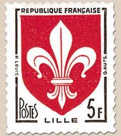 16 1186 1958 blason de lille