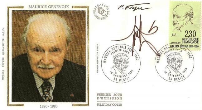 162 2671 10 11 1990 maurice genevoix