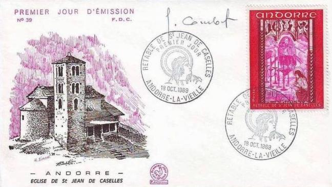 162h 200 18 10 1969 retable de la chapelle de saint jean de caselles carmin brun carmin et lilas rose 1