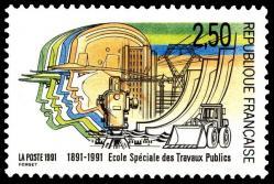 165 2726 05 10 1991 centenaire de l ecole speciale des travaux publics